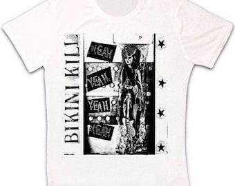 579bcee7 Bikini Kill Indie Rock Punk Retro T Shirt 1650