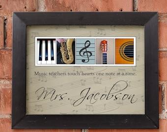Music Teacher Gift Etsy