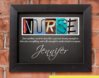 Nurse Gift Personalized Gifts Thank You For Practitioner Nursing School Appreciation