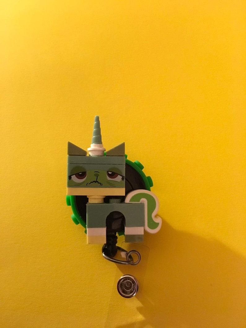 Unikitty  lego badge holder
