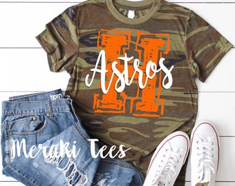 1895f24f screen printed Houston Astros camo shirt ships out within 2 DAYS!!