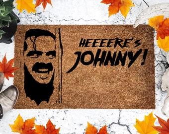 The Shining Doormat - Jack Nicholson - Heres Johnny - Horror Movie - Halloween