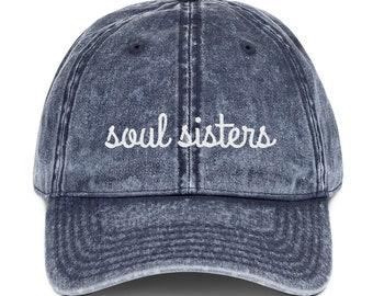 the best attitude 24100 d31c2 Soul Sisters Dad Hat   Sister Gift   Best Friend Gifts   Best Friend Gifts    Cousin Gifts   Cousin Hats   Sister Hats   Gift For Her