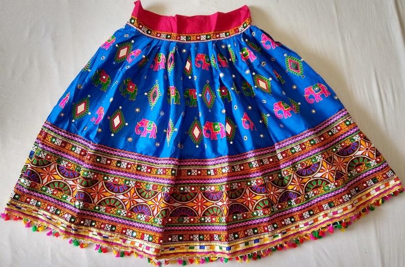 2020 Kutch Embroidered Chaniya Choli-Gujarati Handmade Ghagra Choli-Indian Ethnic Lehenga Choli-Ras Garba Costume-Women/'s Traditional Wear