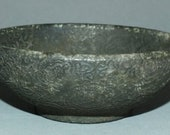 Outstanding Jade Bowl with Fine Carving Thailand FREE SHIPPING