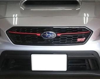 6f108fd19d5 Subaru WRX STI Japanese Style Grille Pinstripe for 2018 2019 Models