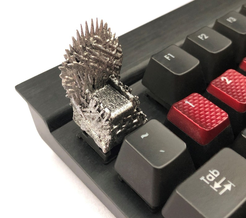 Iron Throne Game of Thrones Keycap Cherry MX Mechanical Gaming Keyboards