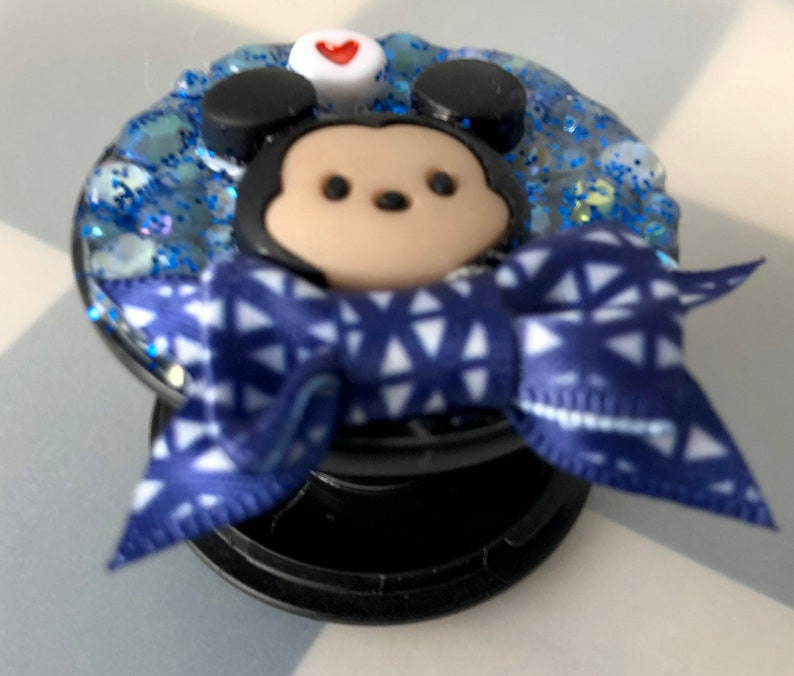Mickey Mouse Decoden Phone Grip