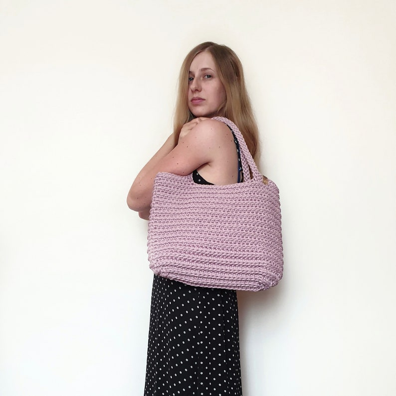 Crochet Shopping Bag Pattern PATTERN Crochet Bag Amelia Beach Bag Pattern pdf