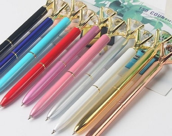 Diamond Luxe Metal Ballpoint Pen