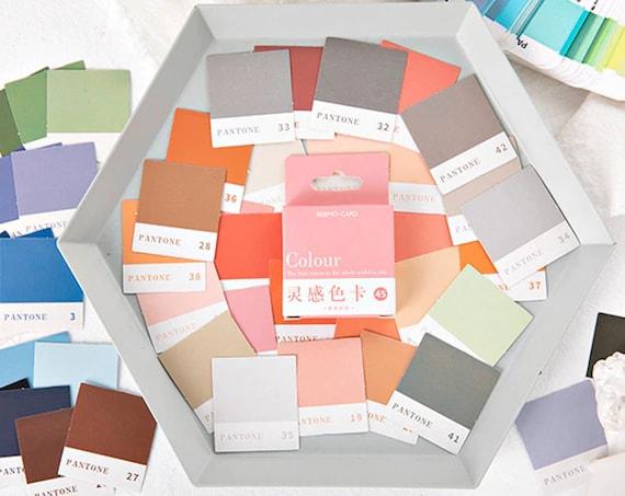 Color Swatch Sticker Box Set 45pcs