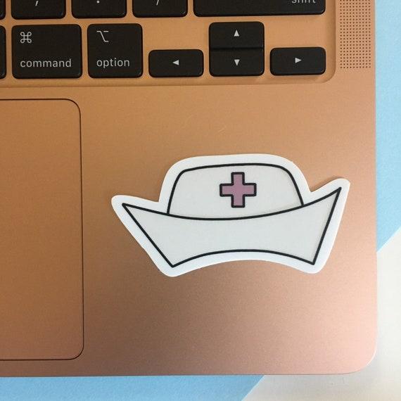 Nurse Cap Sticker