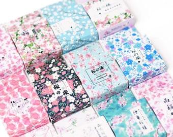 Floral Pattern Washi Tapes