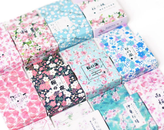 Floral Pattern Washi Tapes
