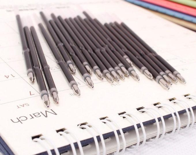 "5pc Ballpoint Pen Ink Refills - Blue / Black / Red Ink - 4.25"""