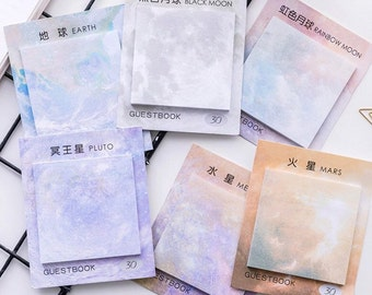 Ethereal Square Sticky Notes