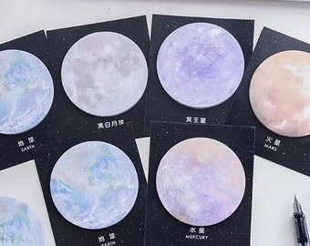 Planetary Circle Sticky Notes