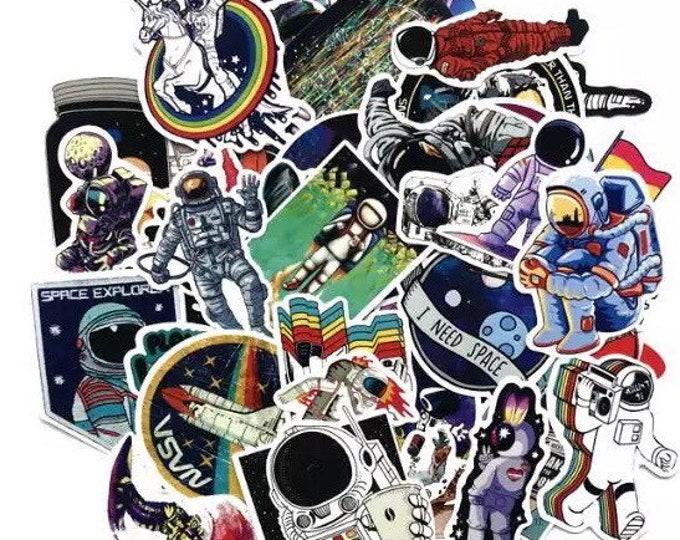 NASA and Chill Sticker Set - Shiny Finish
