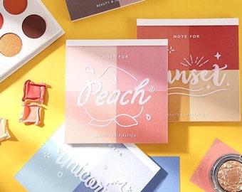 Blush Colorblock Memo Pad