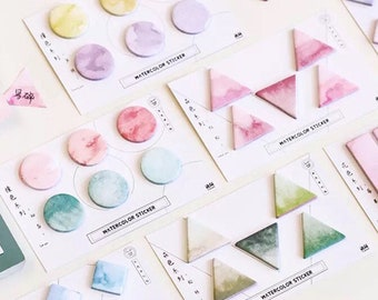 Marbled Geometry Page Markers