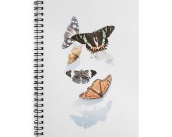 Butterflies Journal - Spiral Notebook