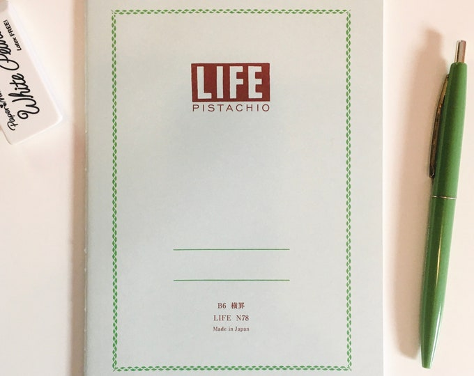 Life Pistachio Notebook - Various Sizes