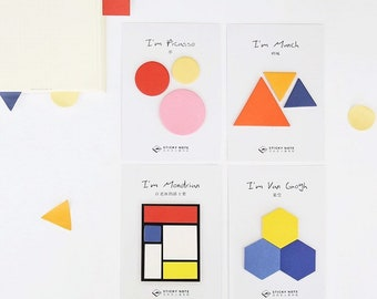 Painter Series Sticky Notes