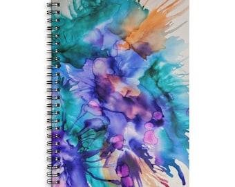 Splat! Lined Spiral Notebook - Journal - Diary