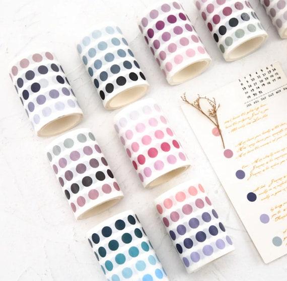 Dot of Color Washi Tape Circles