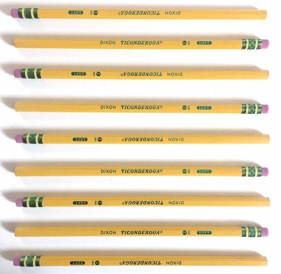 Ticonderoga #2 HB Pencils - Soft - Classic Yellow Pencils