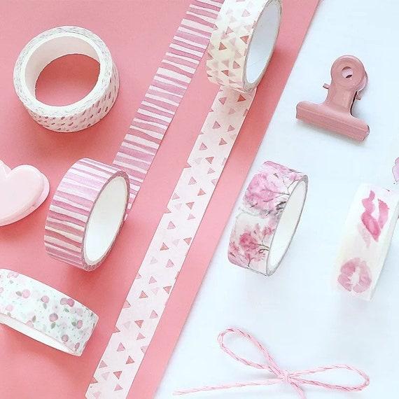 Sweet Pink Washi Tape - 8 Styles
