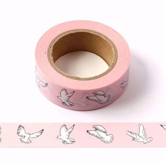 White Dove Washi Tape