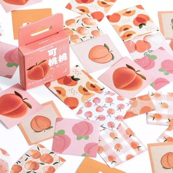 45pc Peaches Sticker Box Set