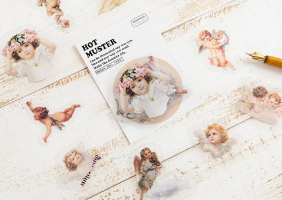40pc Sweet Angels Sticker Set