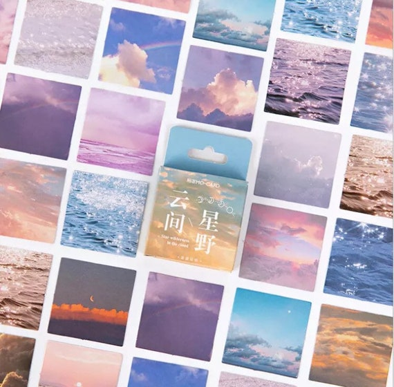 Dream Beach Paper Sticker Box Set - 45pcs