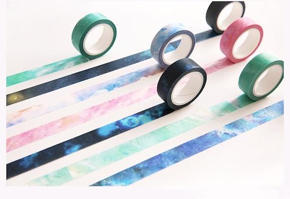 Marbled Galaxy Washi Tape 1.5cm x 8m