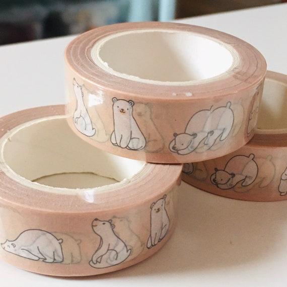 Adorable Polar Bear Washi Tape - 15mmx10m