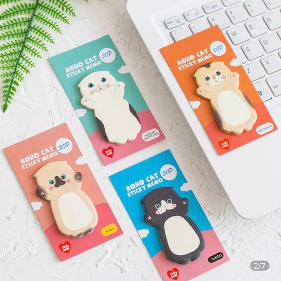 Cute Cat Sticky Note Pads