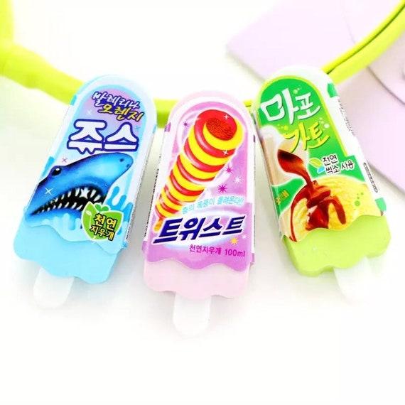 Ice Cream Popsicle Eraser