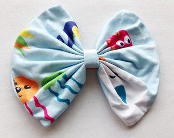 Rainbow Hair clip Mermaid Hair clip Baby Headband Mermaid Hair Bow Narwhal Headbands Mermaid Headband Narwhal Hair Clip