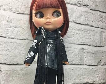 Blythe Halloween Gothic Fashion Jacket