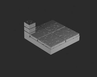 Square tile | Etsy