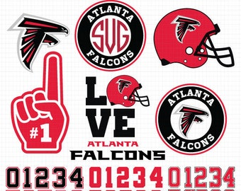 Atlanta Falcons NFL Svg, Falcons Svg, NFL svg, Football Svg Files, T-shirt design, Cut files, Print Files, Vector Cut File, Football Logo