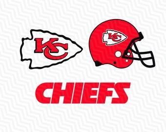 Kansas City Chiefs Svg, City Chiefs Svg, NFL svg, Football Svg Files, T-shirt design, Cut files, Print Files, Vector Cut File, Football Logo