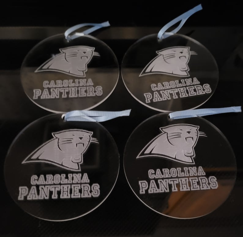 Set of 4 Team Ornaments