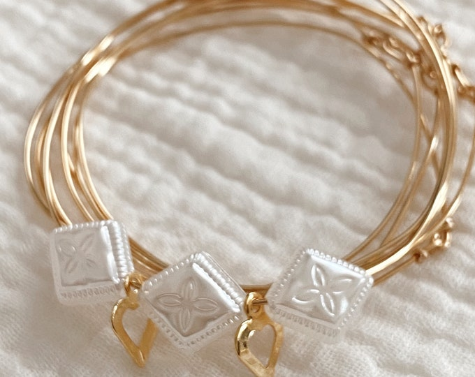 Featured listing image: Weekly Mille-1, gold-plated love