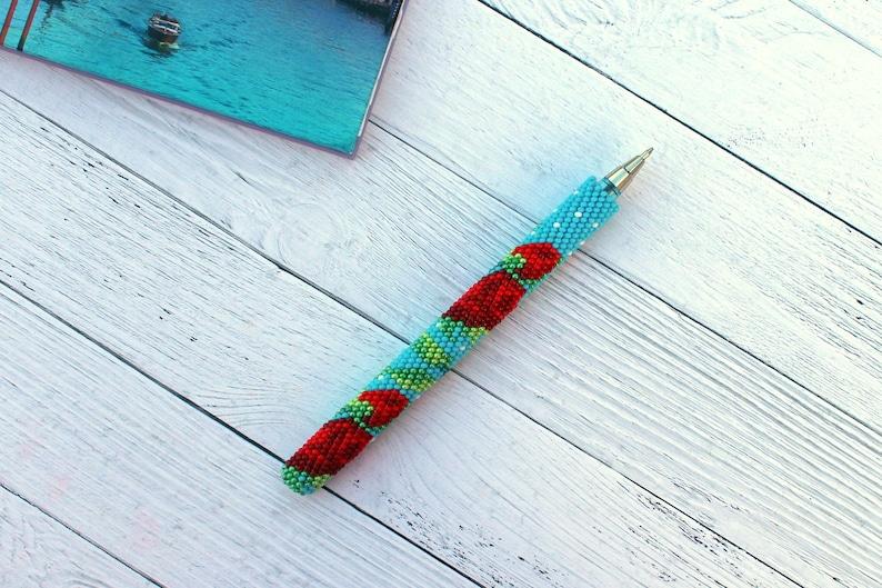 Holiday sale Ballpoint pen Teacher gifts Luxury pens Desk accessories for women Teacher retirement gift Forever flowers