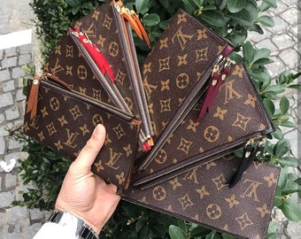 cfe5055bdf Louis Vuitton, LV Adele Wallet, Large Wallet, Genuine leather Cowhide, LV  Checkbook, LV Monogram, Louis Vuitton Clutch, lv Leather Purse