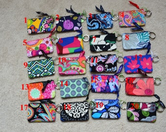 081f991e40 Assorted Vera Bradley Retired Zip ID Case and Lanyard Set