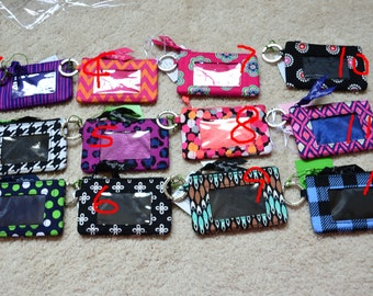 0820ba5e31 Assorted Vera Bradley Retired Zip ID Case